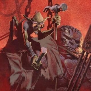Slobad, Goblin Tinkerer Art by Kev Walker
