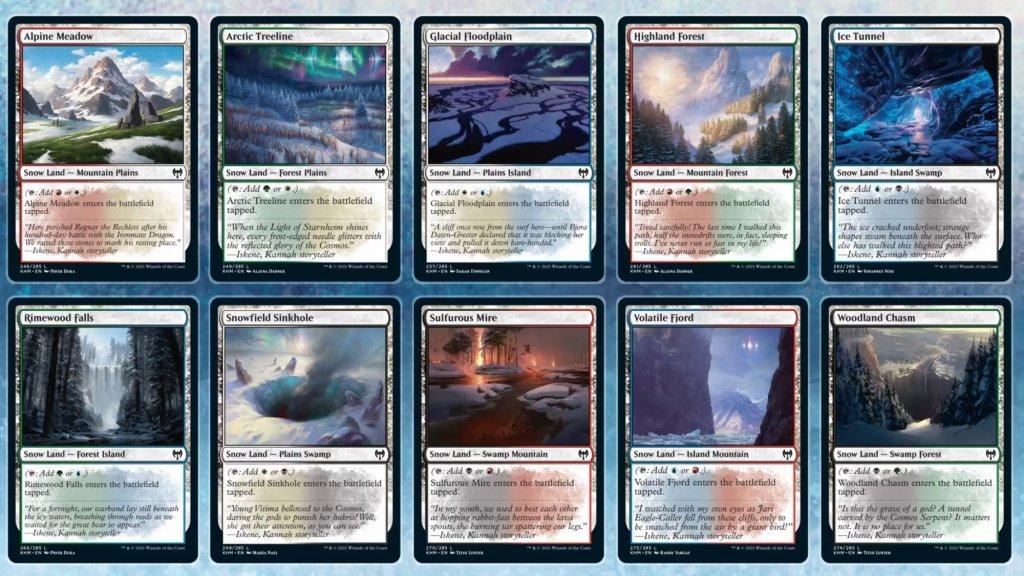 Snow Dual Lands