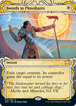 010 Swords to Plowshares Mystical Archives Spoiler Card