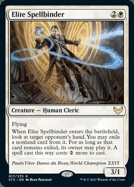 017 Elite Spellbinder Strixhaven Spoiler Card