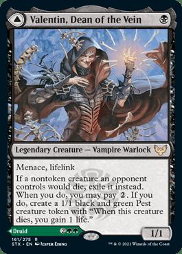 161A Valentin, Dean of the Vein Strixhaven Spoiler Card