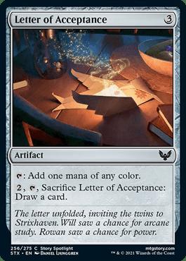 256 Strixhaven Spoiler Card