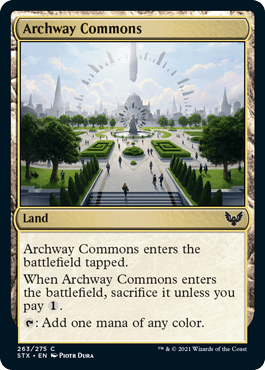 263 Archway Commons Strixhaven Spoiler Card