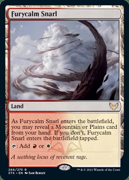 266 Furycalm Snarl Strixhaven Spoiler Card