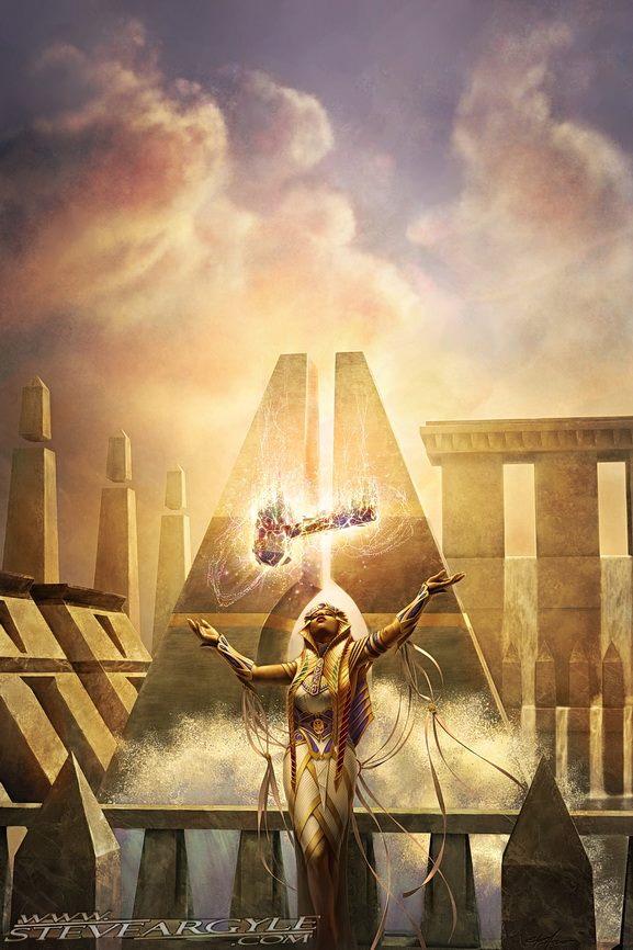 Forsake-the-Worldly-Amonkhet-MtG-Art
