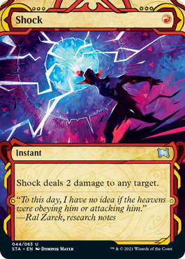 044 Shock Mystical Archives Spoiler Card