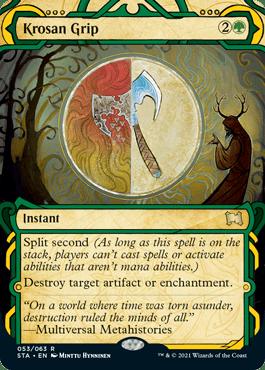 053 Krosan Grip Mystical Archives Spoiler Card