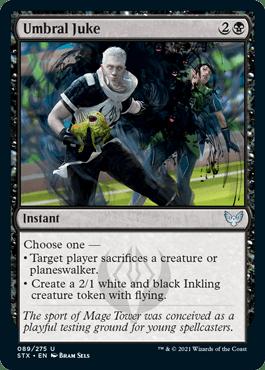 089 Umbral Juke Strixhaven Spoiler Card