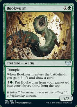 Bookwurm - Strixhaven: School of Mages