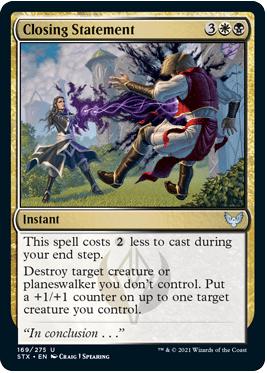 169 Strixhaven Spoiler Card