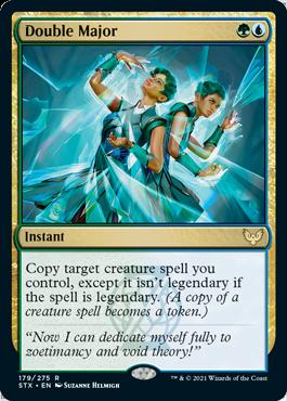 179 Double Major Strixhaven Spoiler Card