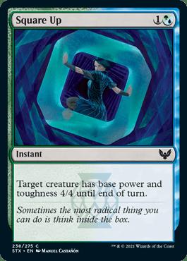 238 Strixhaven Spoiler Card Square Up
