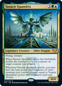 240 Tanazir Quandrix Strixhaven Spoiler Card