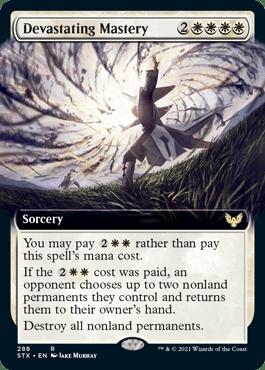 STX 288 Devastating Mastery Extended Art