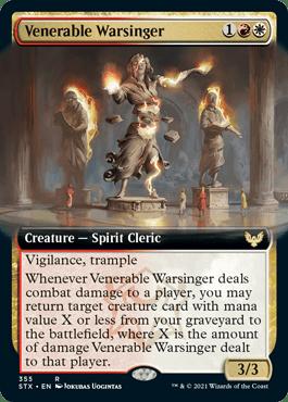STX 355 Venerable Warsinger Extended Art