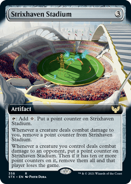 STX 358 Strixhaven Stadium Extended Art