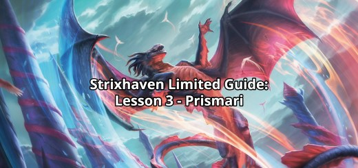 Strixhaven Limited Guide: Lesson 3 - Prismari