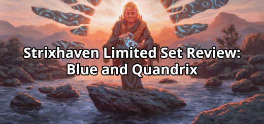 Strixhaven Limited Set Review: Blue and Quandrix