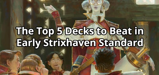 The Top 5 Decks to Beat in Early Strixhaven Standard