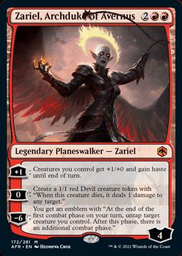 AFR 172 Zariel, Archduke of Avernus Main