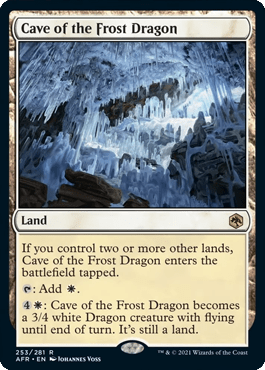 AFR 253 Cave of the Frost Dragon Main