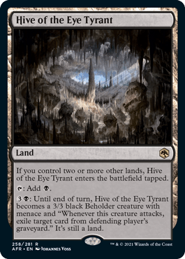 AFR 258 Hive of the Eye Tyrant Main