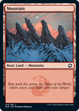 AFR 275 Mountain Main