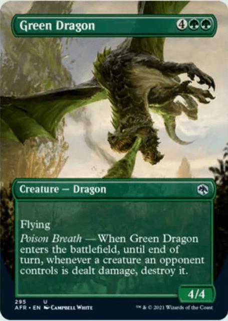 AFR 295 Green Dragon Borderless
