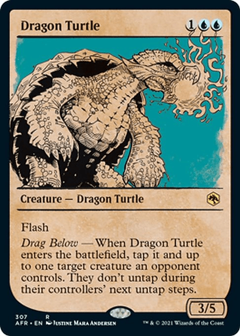 AFR 307 Dragon Turtle Showcase