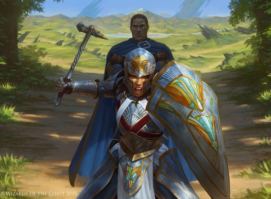 Dauntless Bodyguard Art by Manuel Castañón