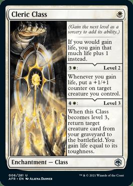AFR 006 Cleric Class Main