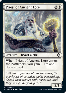 AFR 035 Priest of Ancient Lore Main