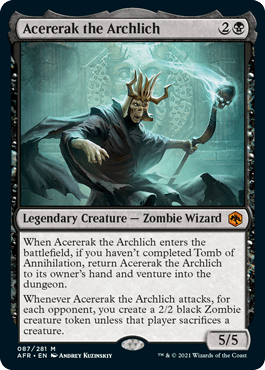 AFR 087 Acererack the Archlich Main