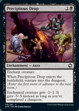 AFR 115 Preciptious Drop Main