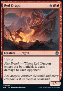 AFR 160 Red Dragon Main