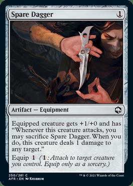 AFR 250 Spare Dagger Main