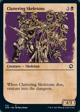 AFR 312 Clattering Skeletons Showcase