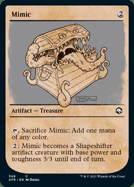AFR 349 Mimic Showcase