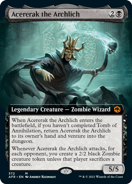 AFR 372 Acererack the Archlich Extended