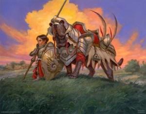 Loyal Warhound by Dmitry Burmak