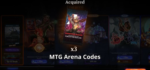 MTG Arena Codes