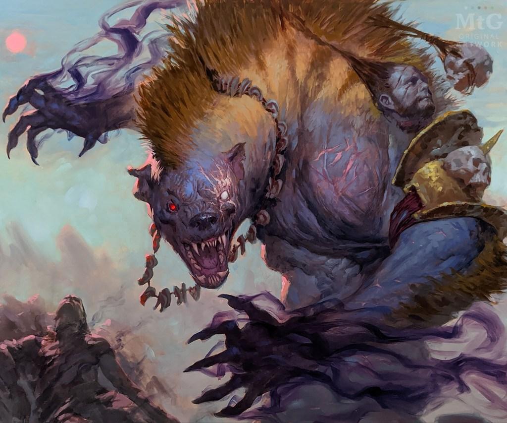 Targ Nar, Demon-Fang Gnoll Art by Tyler Jacobson