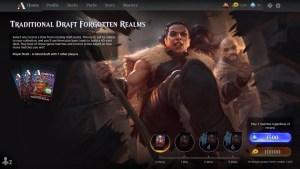 Traditional Draft Forgotten Realms