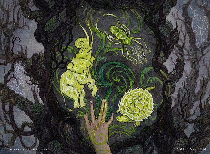 Wild Shape Art by Sam Guay