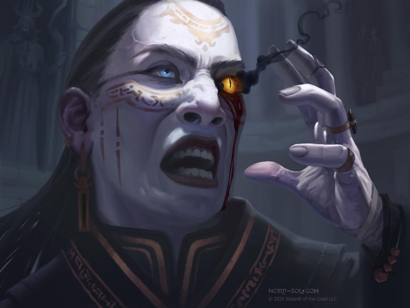 Eye of Vecna art by Irina Nordsol
