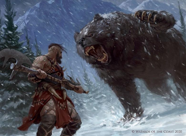 Blizzard Brawl Art by Manuel Castañón