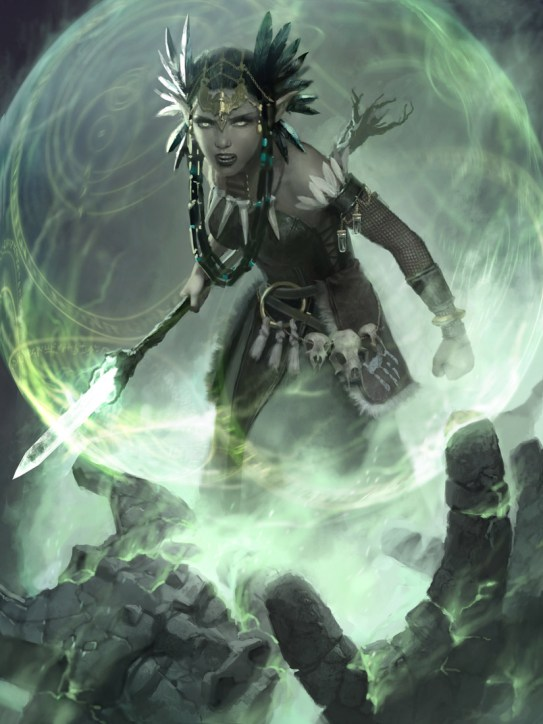 Reclamation Sage Art by Clint Cearley