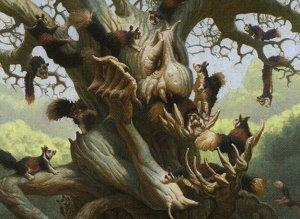Scurry Oak Art by Mark Zug