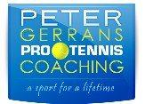 Peter Gerrans Tennis Logo