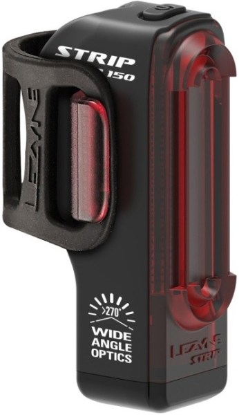 LEZYNE STRIP DRIVE REAR 150 LUMEN BLACK